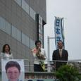 参院選 千葉選挙区で活動中の浅野史子さん