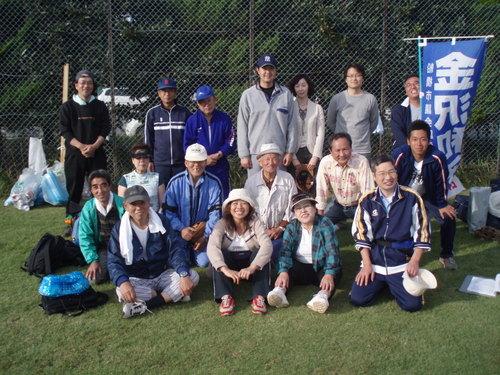 グランドゴルフ・ソフトボール大会に参加